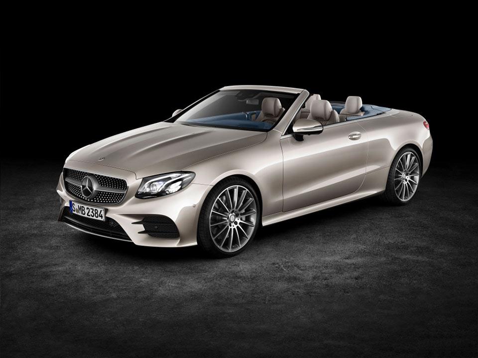 2018 Mercedes-Benz E-Class Cabriolet Announced