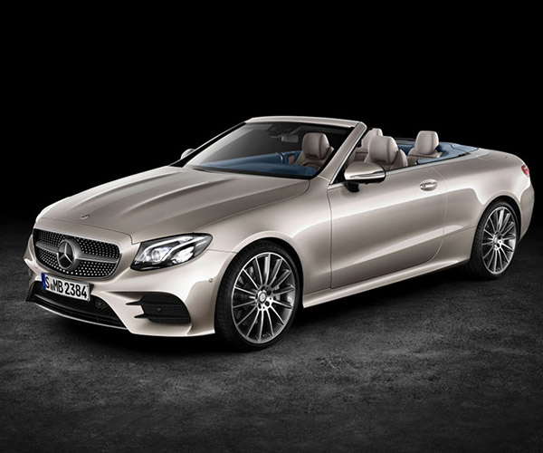 2018 Mercedes-Benz E-Class Cabriolet Announced