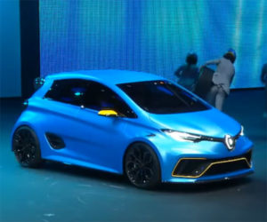 Renault Shows off Adorable and Fast ZOE e-Sport Concept