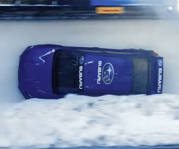 Subaru WRX STI Bobsled Run on Video