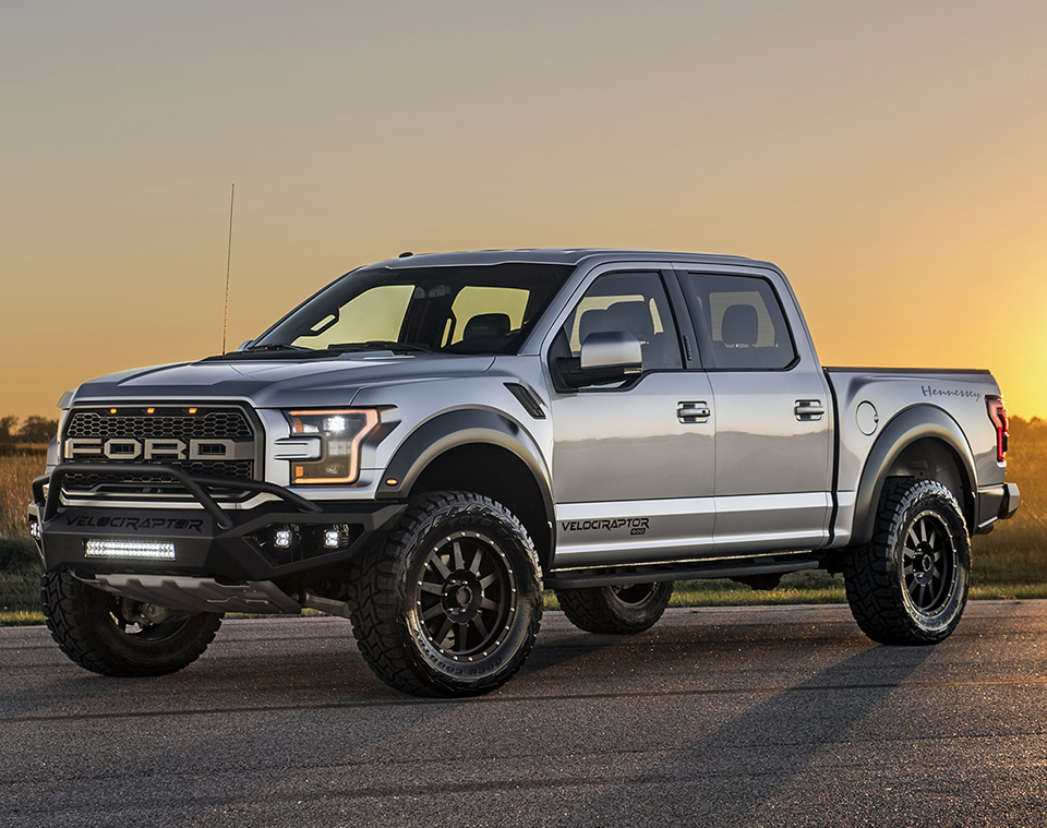 2017 Ford Raptor Gets the Hennessey VelociRaptor Treatment