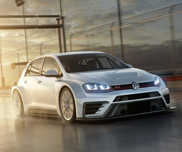 2017 Volkswagen Golf GTI TCR Racer Packs 350hp