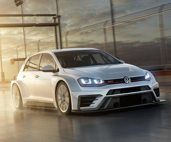 2017 Volkswagen Golf GTI TCR Racer Packs 350hp