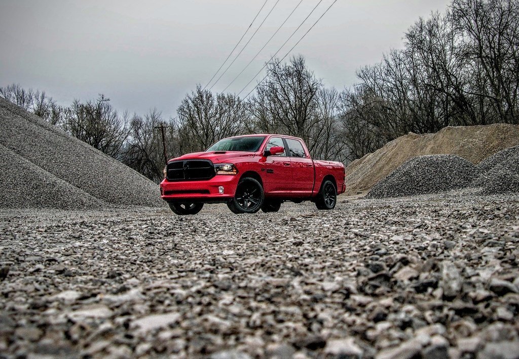 2017 RAM 1500 Night Edition Crew Cab Review: Red Between the Lines