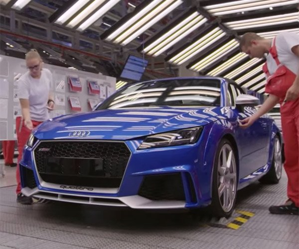 Let's Go Inside the Audi TT RS Coupe Assembly Line