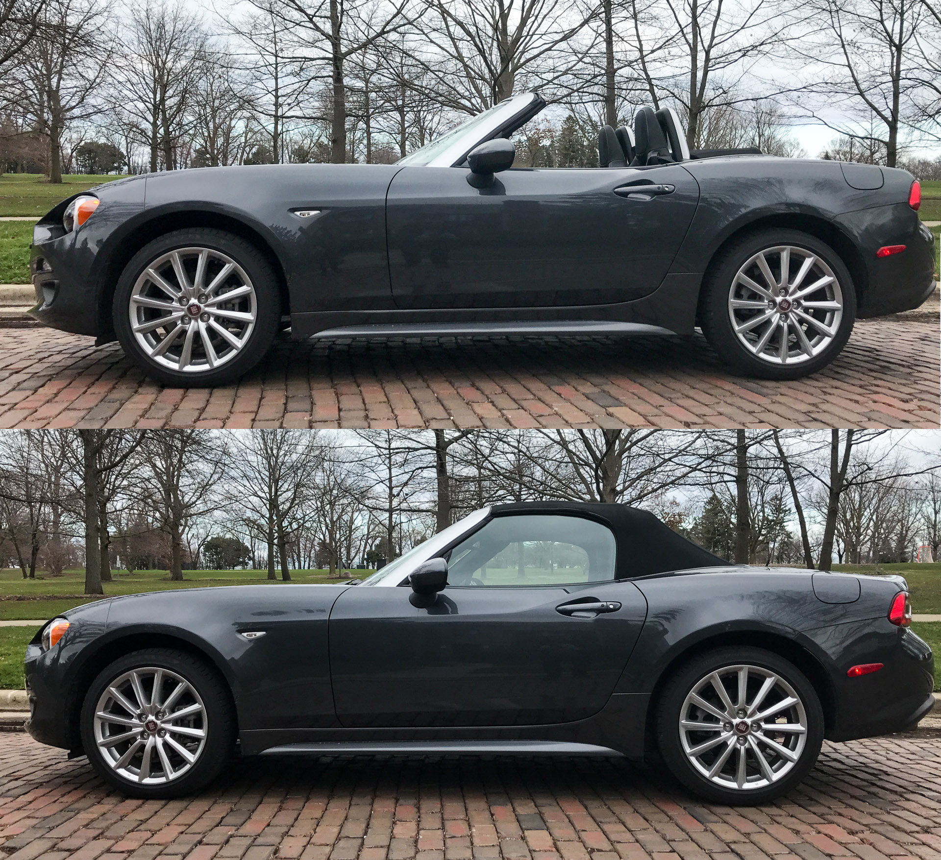 2018 Fiat 124 Spider Suspension: 2017 FIAT 124 Spider Lusso Review