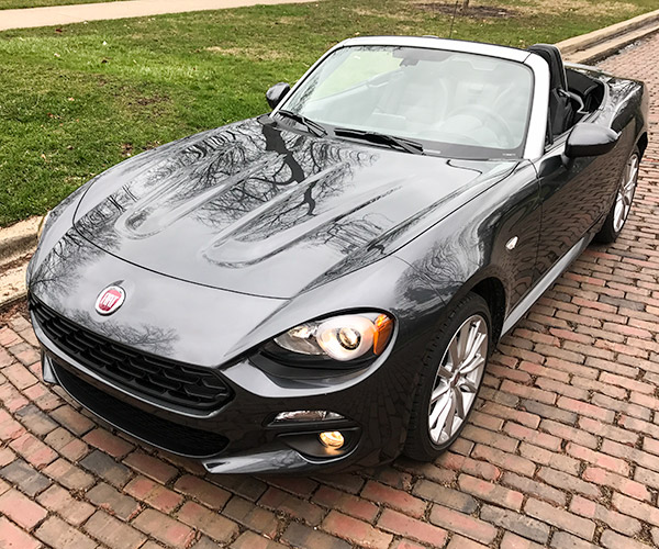 2017 FIAT 124 Spider Lusso Review