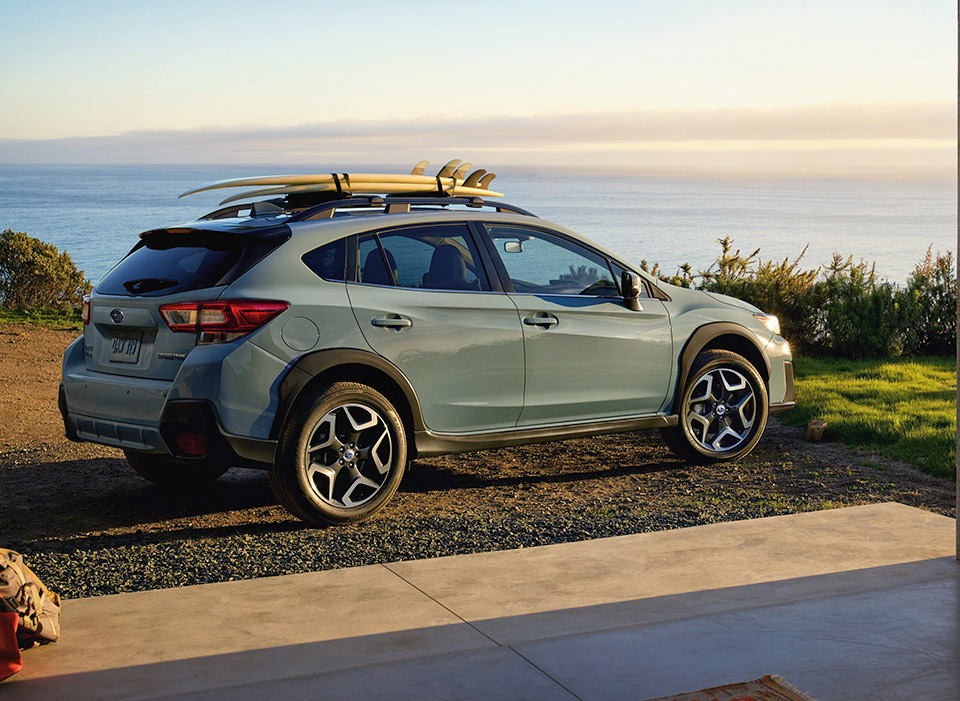 2018 Subaru Crosstrek Breaks Cover - 95 Octane