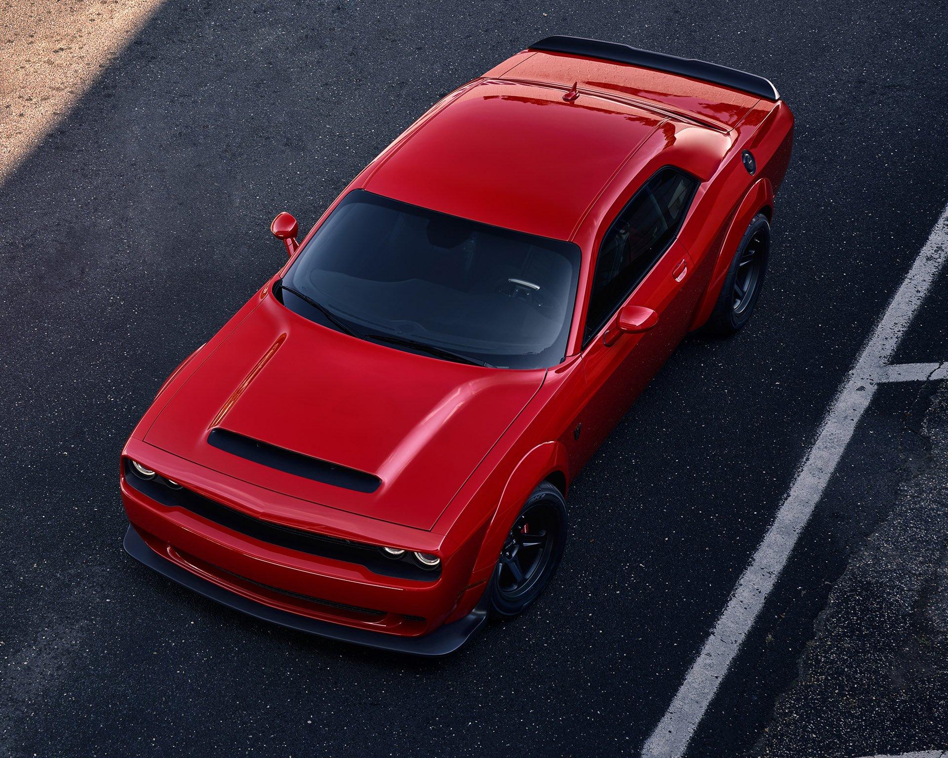 2018 Dodge Challenger SRT Demon Is a Horsepower Monster - 95 Octane