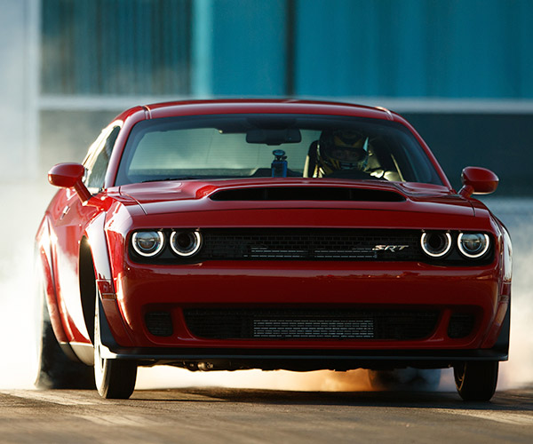 2018 Dodge Challenger SRT Demon Is a Horsepower Monster