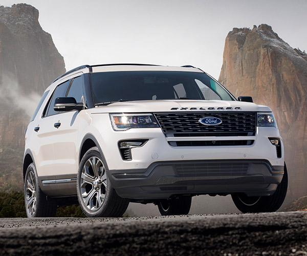 2018 Ford Explorer Gets Modest Updates