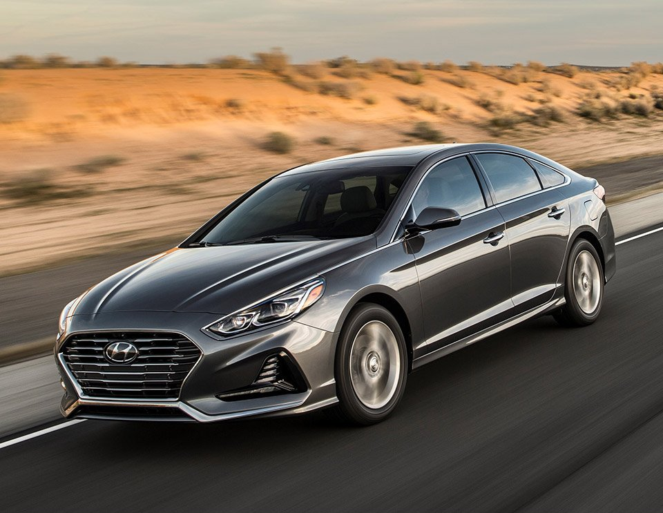2018 hyundai sonata brings new style and safety features 95 octane. Black Bedroom Furniture Sets. Home Design Ideas