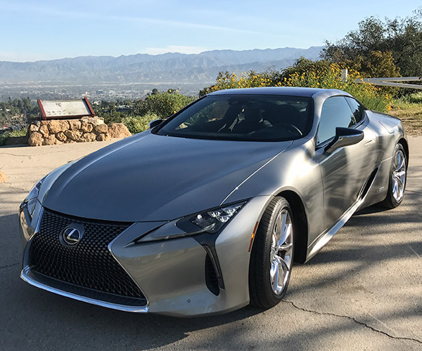 The Lexus LC 500h Is a Hybrid Like No Other