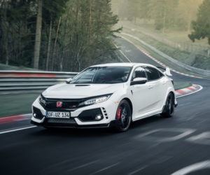 Watch as a Honda Civic Type R Sets FWD Nürburgring Record