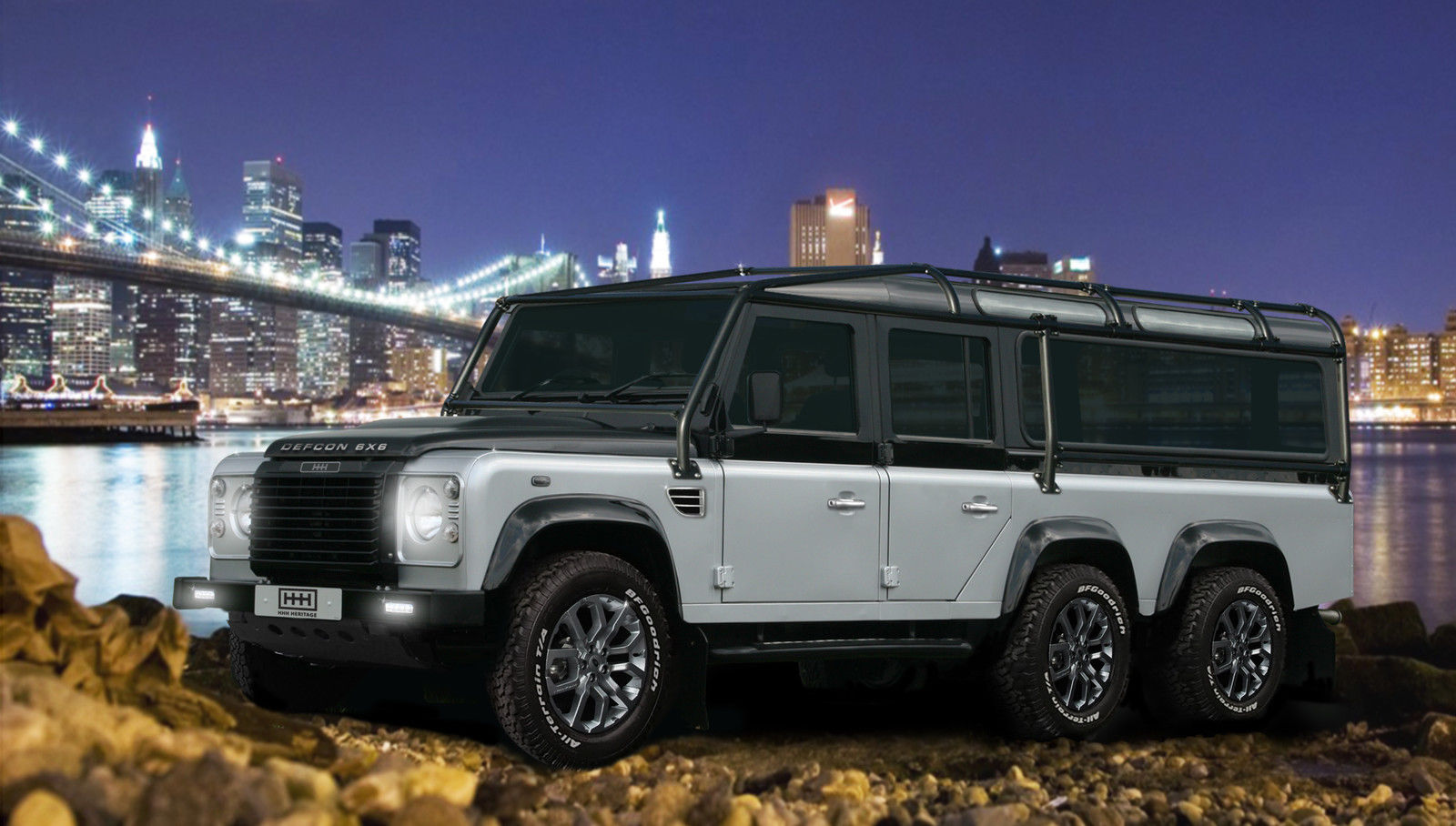 Got 585 000 This Land Rover Defcon 6x6 Defender Is For