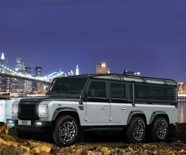 Got $585,000? This Land Rover Defcon 6X6 Defender is for Sale