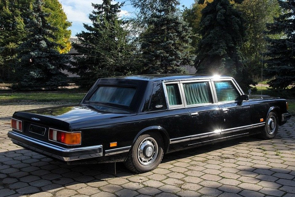 Gorbachev's $770,000 Armored Russian Presidential Limo for ...