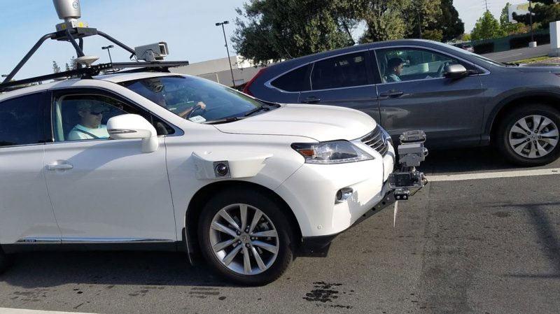 Apple Autonomous Lexus Spied Using Off-the-Shelf Hardware
