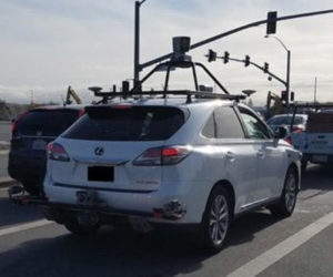Apple Autonomous Lexus Spied Using Off-the-Shelf Hardware