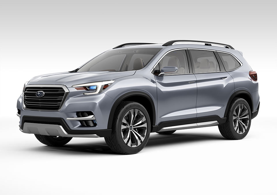 Subaru Ascent Concept is a Big 3-Row SUV