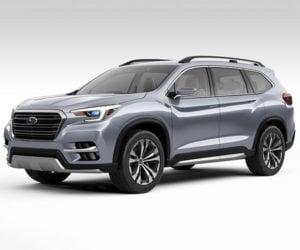 Subaru Ascent Concept is a Big 3-Row SUV