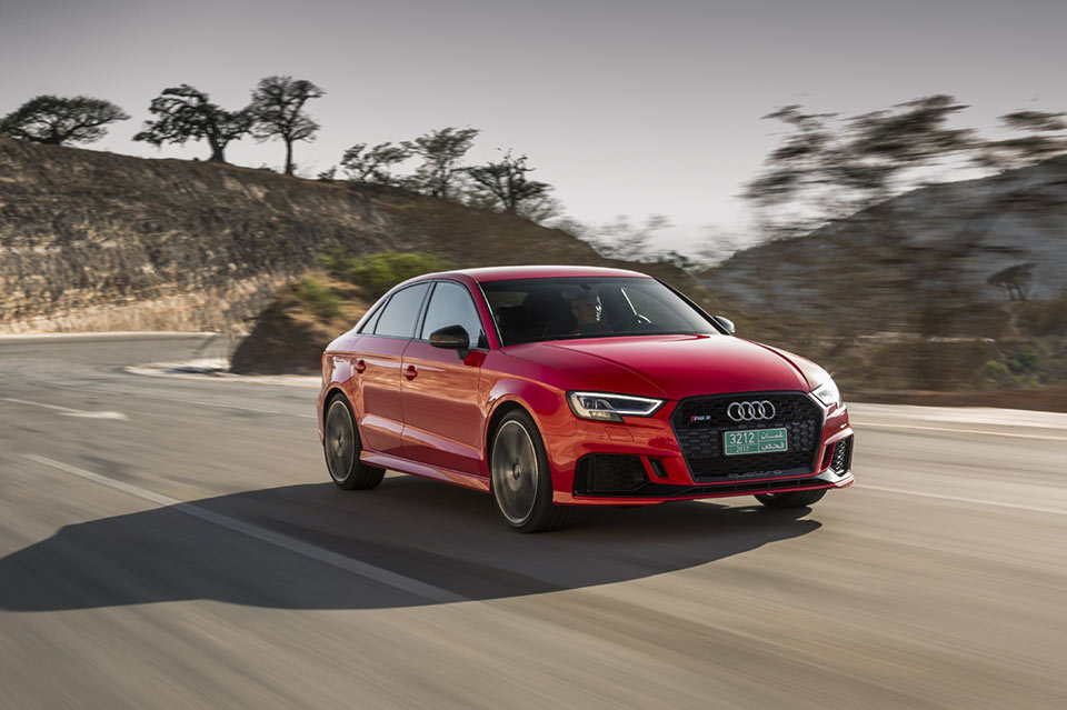 2018 Audi RS 3 Sedan Coming to America