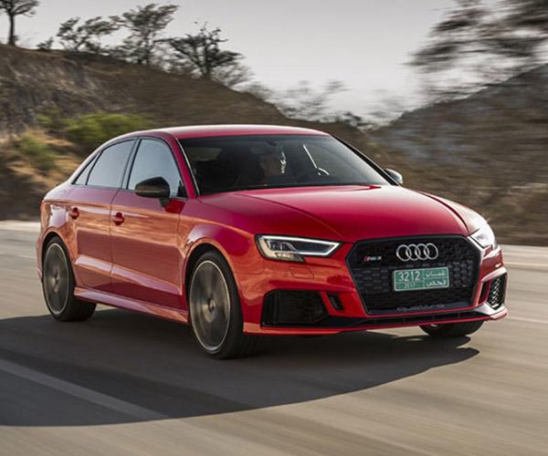 2018 Audi RS 3 Sedan Coming to America