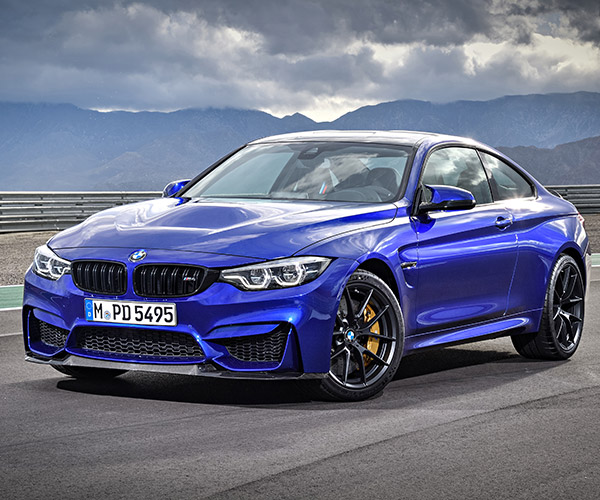 The BMW M4 CS Looks Ready to Rumble