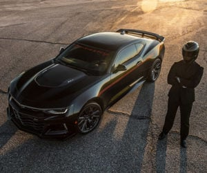 Hennessey The Exorcist Camaro Aims to Banish the Demon