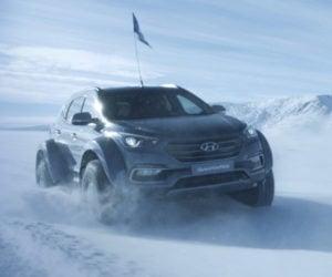 Crossing Antarctica in a Custom Hyundai Sante Fe
