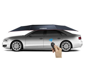 Lanmodo Car Tent Keeps Cars Cool in the Hot Sun
