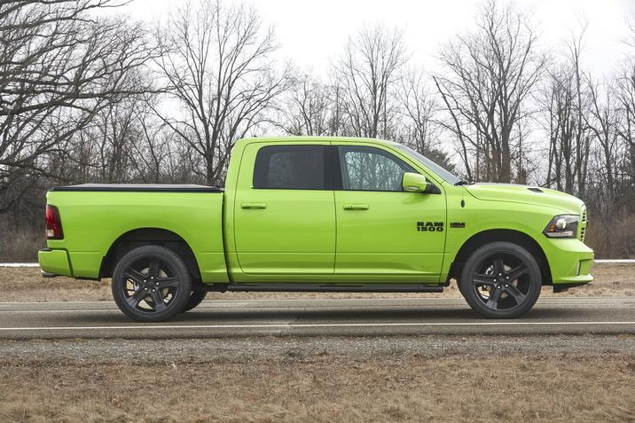 Ram 1500 Sublime Sport is a Mean Green Machine