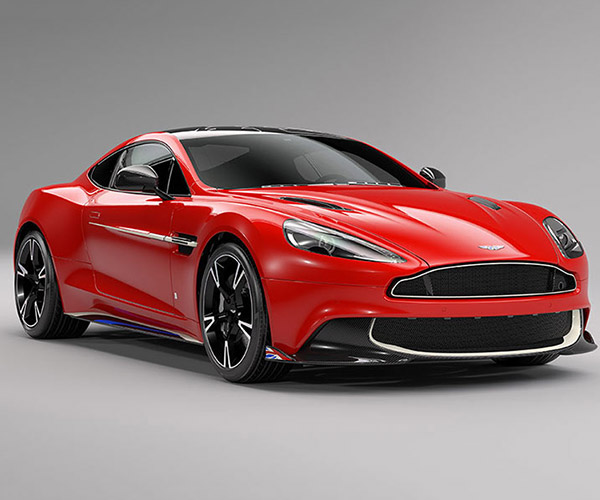 Aston Martin Vanquish S Red Arrow Edition