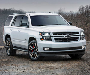 2018 Tahoe and Suburban RST Give Big SUVs a Performance Boost