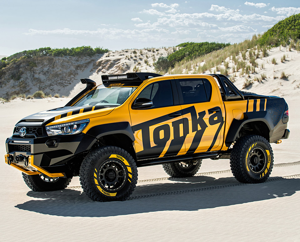 Toyota Hilux Tonka Concept Puts the TOY in TOYOTA