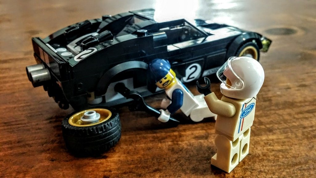 Ford Gt And Gt40 Review A Lego Kit Exclusive