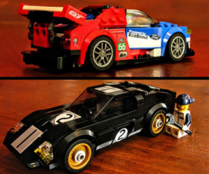 Ford GT and GT40 Review: A LEGO Kit Exclusive
