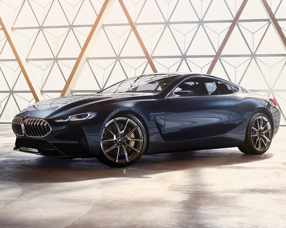 BMW 8 Series Concept Revealed, M8 Teased