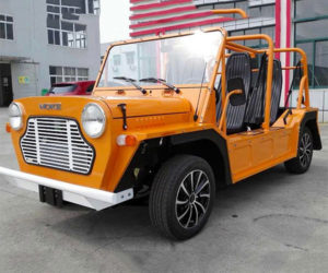 Hey, Hey, It's the e-Moke! People Think We e-Moke Around!