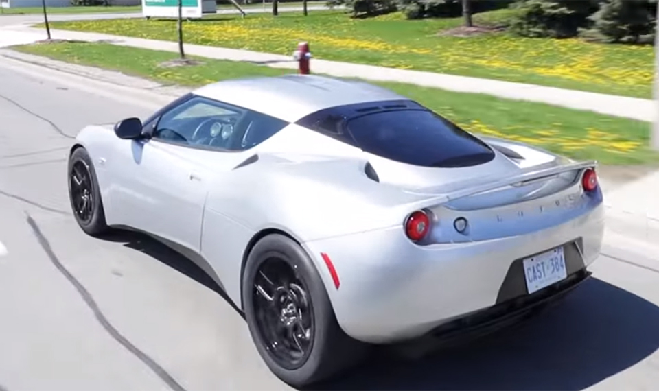 Electric Lotus Packs Tesla Drivetrain and Chevy Volt Batteries