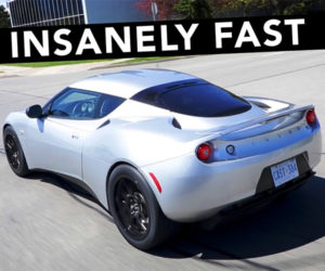 Electric Lotus Packs Tesla Drivetrain and Chevy Volt Batteries