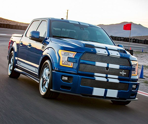 Shelby F-150 Super Snake Truck Packs 750 hp