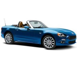 FIAT 124 Spider Lusso Prima Edizione VIN 1 Sold for Reasonable Price