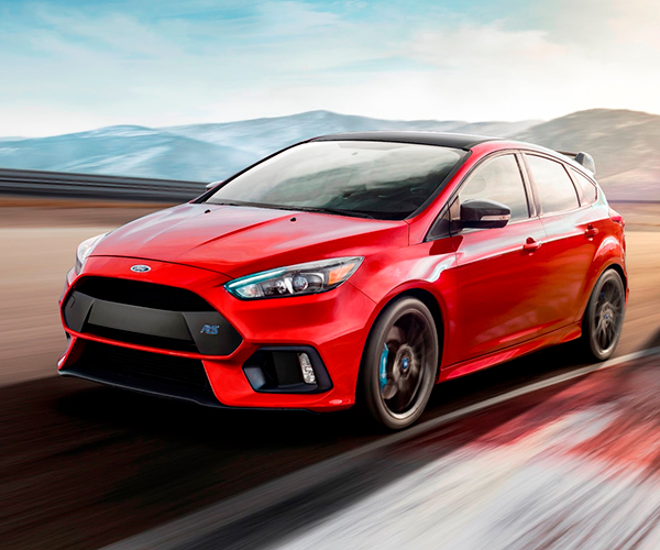 2018 Ford Focus RS Limited-Edition Limited to 1500 Units