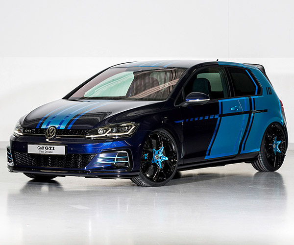 VW Creates Golf GTI Hybrid for Wörthersee Meeting