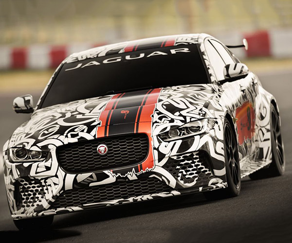 600ps Jaguar XE SV Project 8 Drops the Pedal to the Metal