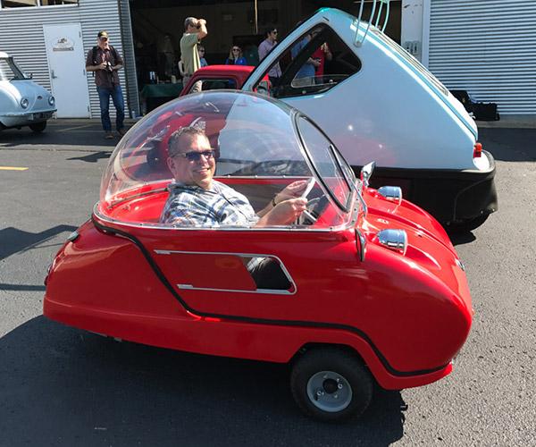 Microcar Mania Hits the Lane Motor Museum