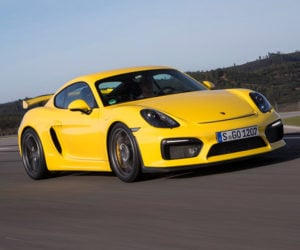 New Porsche Cayman GT4 to Get Stick, No Turbo