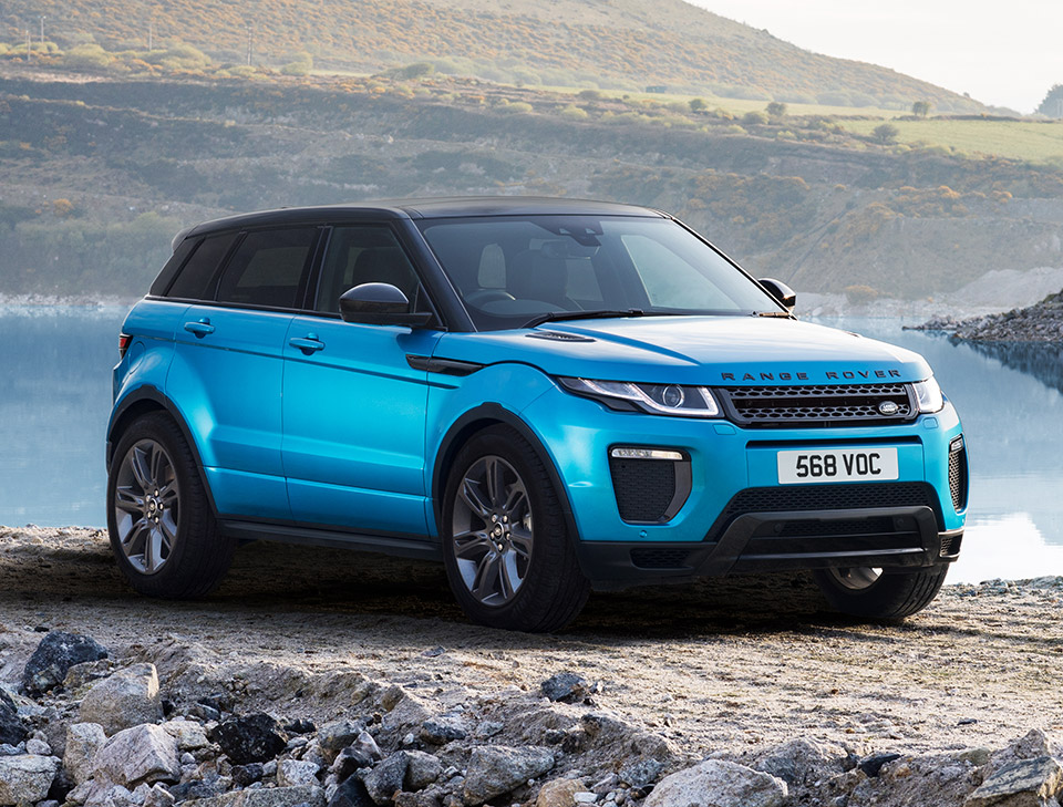 2018 range rover evoque landmark edition. Black Bedroom Furniture Sets. Home Design Ideas