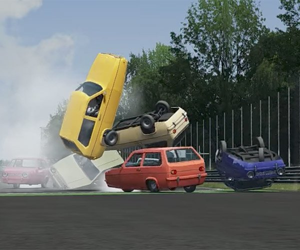 Reliant Robin Race Simulation